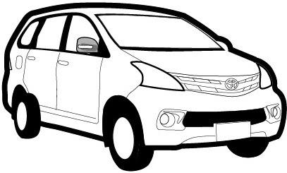 940 Gambar Mobil Avanza Kartun Terbaik