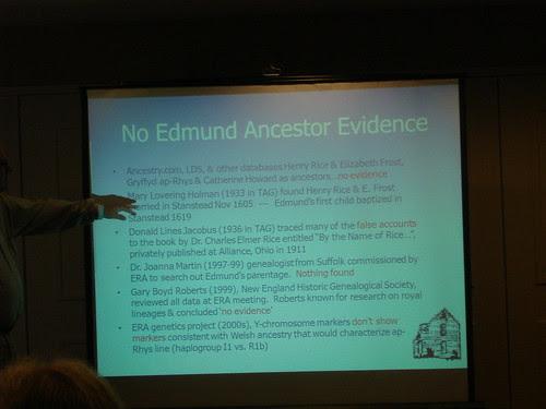 NO Edmund Rice Evidence by midgefrazel