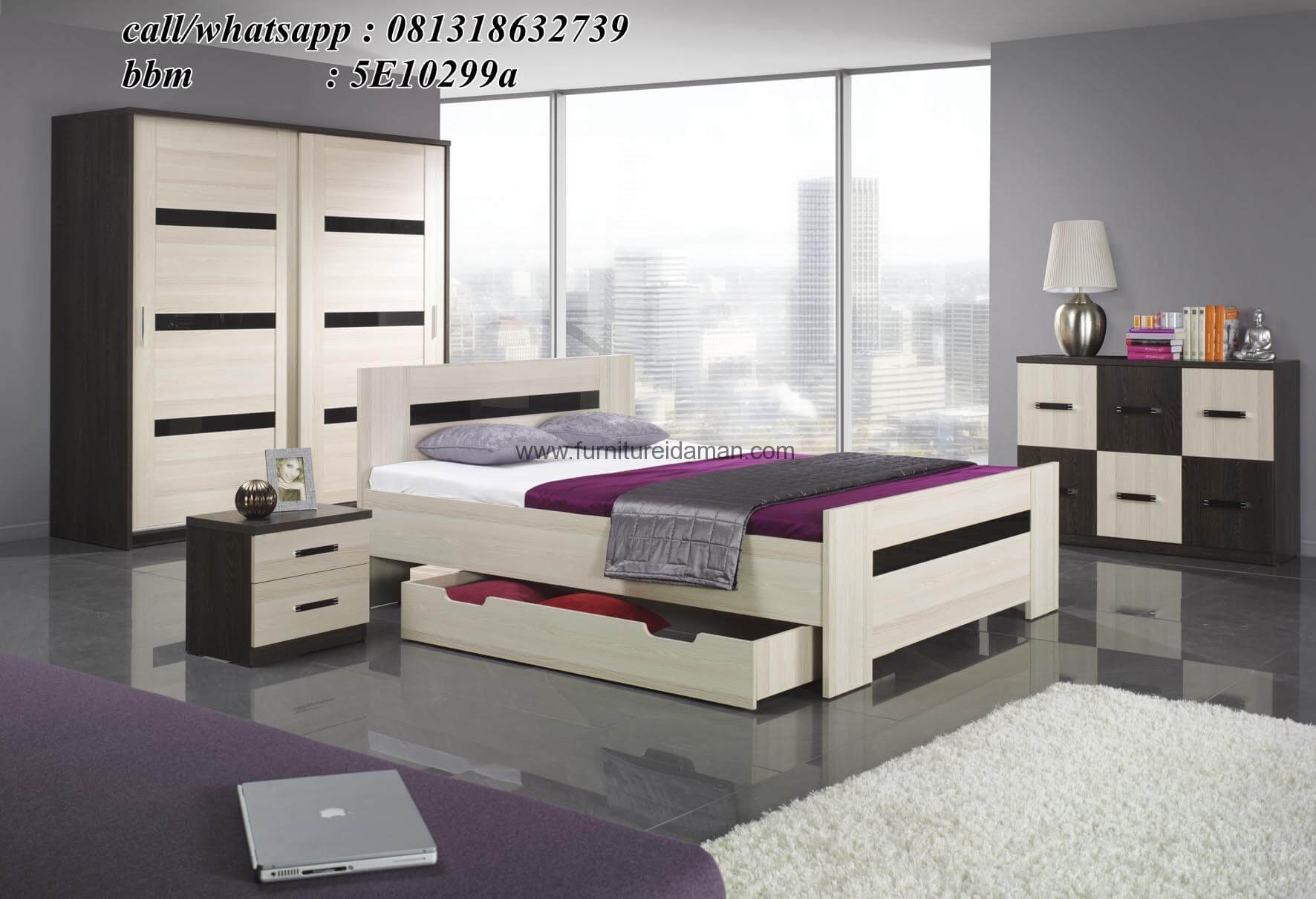 Set Kamar Anak Minimalis Modern Terbaru SKA-07 - Furniture ...