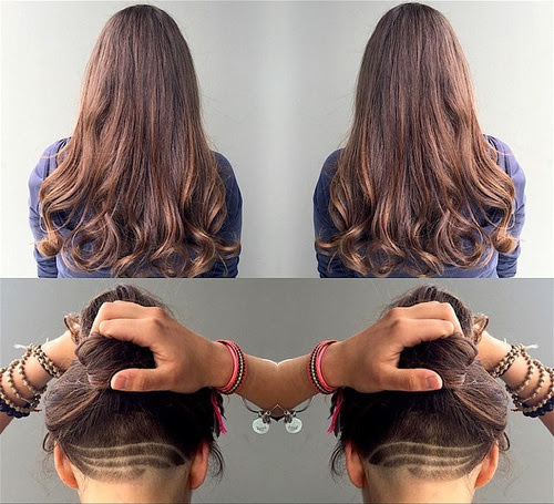 Long Undercut Haircut