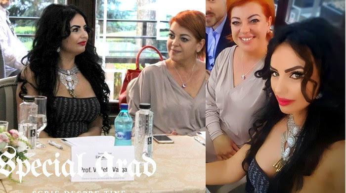 Două fotografii, aceeași zi. Una, de la noi. Alta, de pe Facebook-ul Violetei Varga