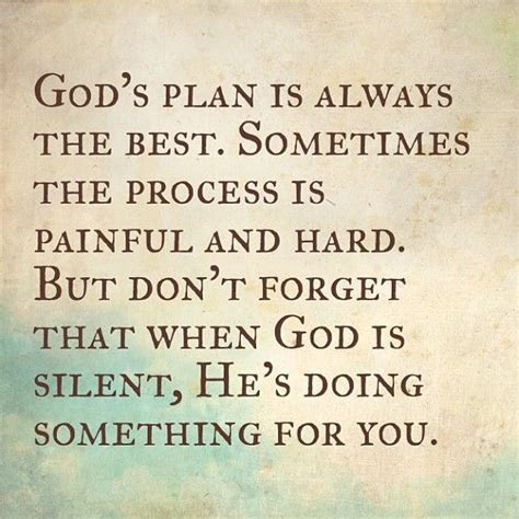 God Has Plans Quotes