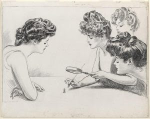 The weaker sex. By Charles Dana Gibson, 1903. Prints and Photographs Division.