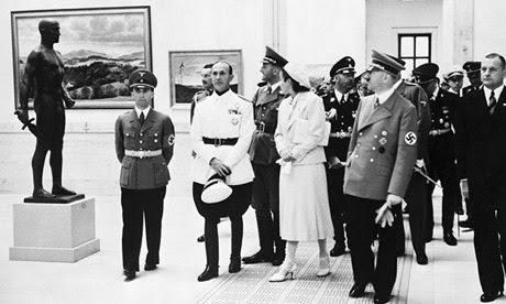 Hitler Shows Off