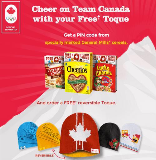 General Mills Free Team Canada Toque
