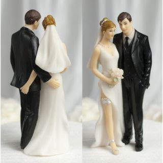 wedding cake toppers funny