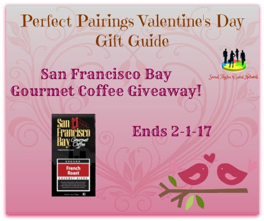 Enter the San Francisco Bay Gourmet Coffee Giveaway. Ends 2/1