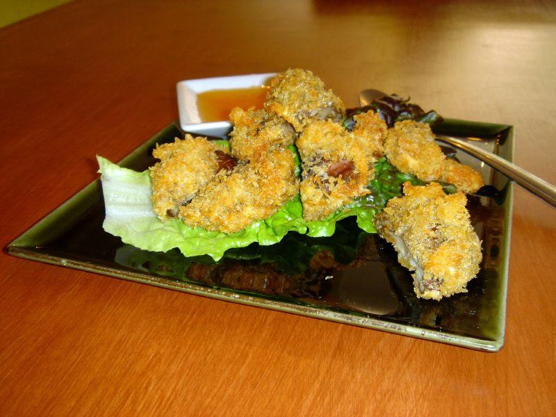 Deep Fried Shitake