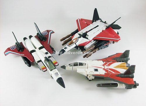 Transformers Ramjets modo alterno
