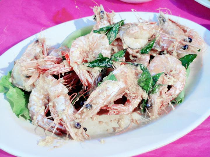 JB seafood - cereal prawn