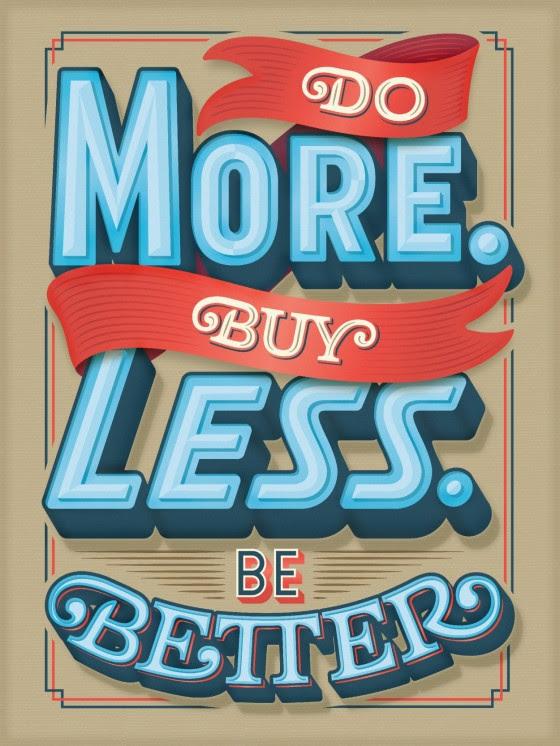 do more buy less