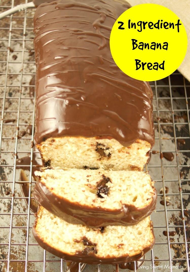 2 Ingredient Banana Bread - Living Sweet Moments