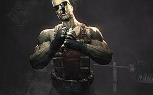 Duke Nukem Forever 2007 teaser screenshot