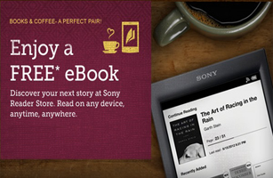 Peets FREE eBook FREE Ebook of Your Choice From Sony and Peets