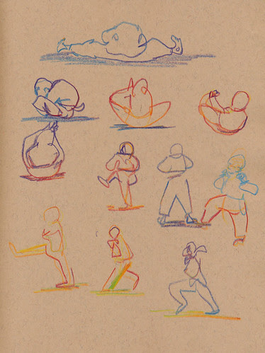 November 2012: My Life Drawing Classes by apple-pine