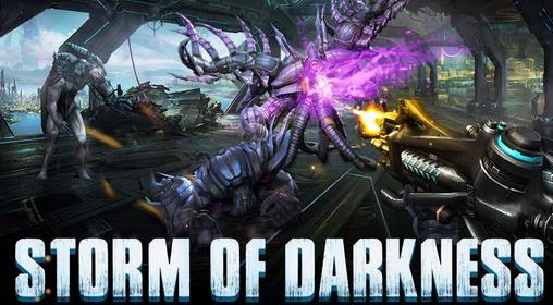 Screenshots of the Storm of darkness for Android tablet, phone.