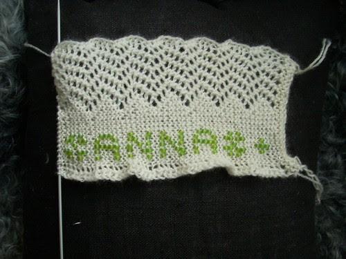 Cuffs for Anna in progress by Asplund