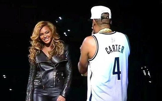 Jay-Z's Barclays Show (October 2012), Beyonce, Jay-Z