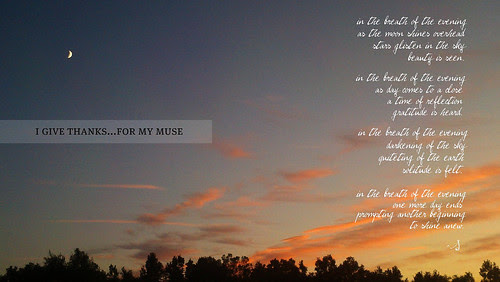 {Gratitude} Day 15 ~ My Muse