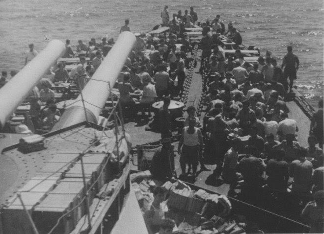Στο χρονικό διάστημα 1947 έως 1949 το Θωρηκτό έγινε Αρχηγείο Στόλου στο Κερατσίνι. Όμως, το πλοίο είχε 'γεράσει' και το 1952 διατάχθηκε ο παροπλισμός του.