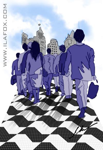 padrão desenho calçadas de São Paulo Mirthes Bernardes, dicas para ilustradores, ilustração by ila fox