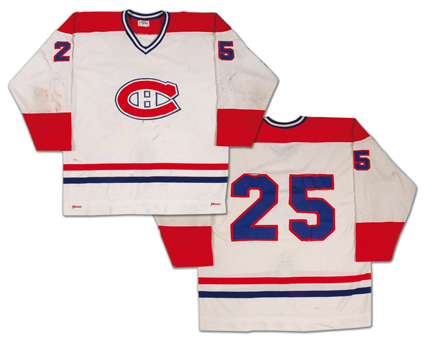 Montreal Canadiens 1976-77 Jacques Lemaire jersey