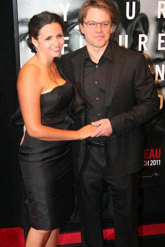 Emily Blunt Matt Damon and Luciana Damon model agencies miami