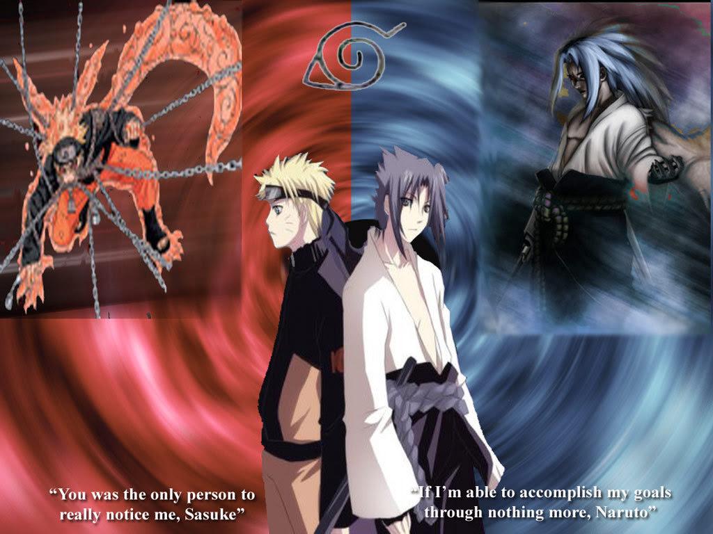 Naruto Sasuke  Upashna Wallpaper 25606840  Fanpop