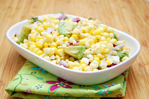 Fresh Corn & Avocado Salad