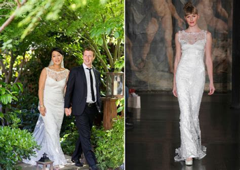 Mrs Mark Zuckerberg; The Dress, The Ring   StyleScoop