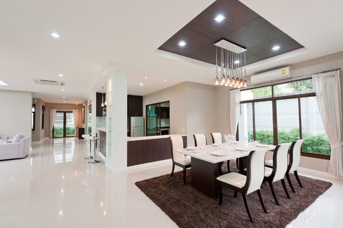 Cool Open Kitchen And Dining Room Designs India images