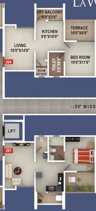 Gagan LaWish 1 BHK 2 BHK 2.5 BHK Flats Pisoli Pune 411028