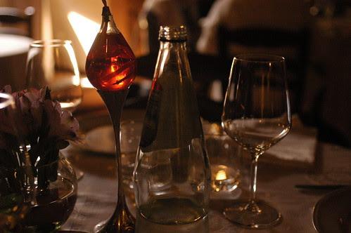 on the table at Mastro Giorgio