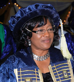 Mrs. Olufolake Oladunni Oyeyemi is Registrar at the University of Ilorin in the Federal Republic of Nigeria. She is the first woman to serve is such a position at this institution. by Pan-African News Wire File Photos