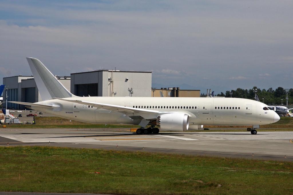 Ethiopian Airlines Dreamliner 787 (ET-AOQ)