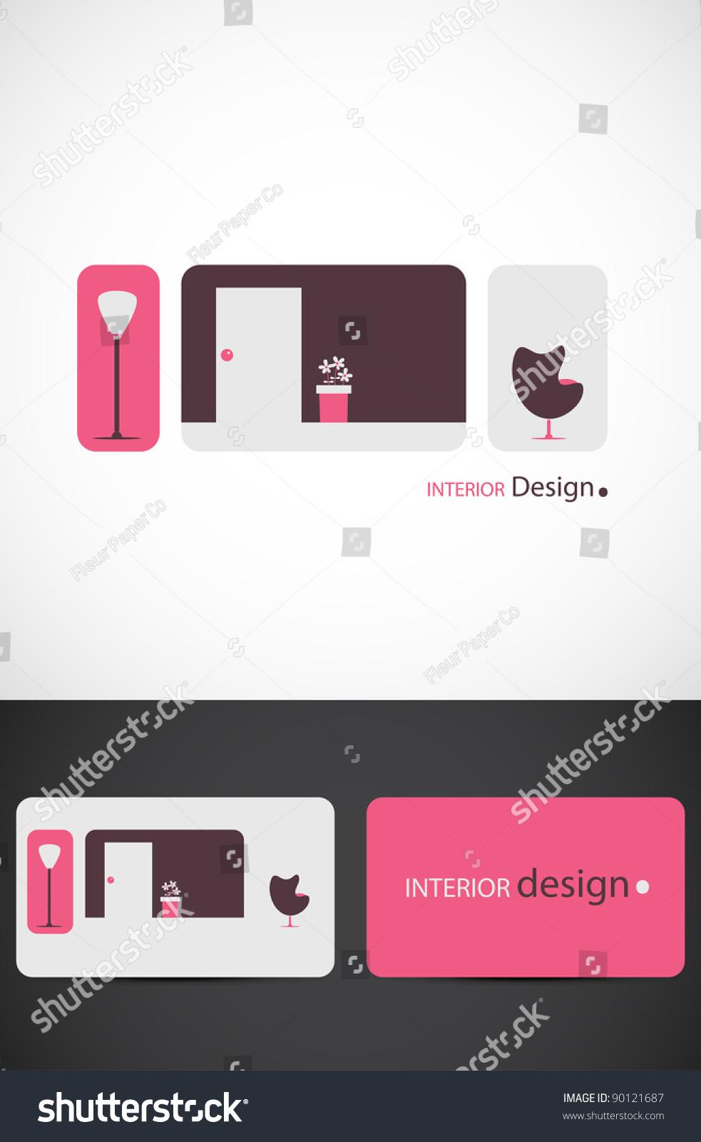 Interior Design Icon Such Logo