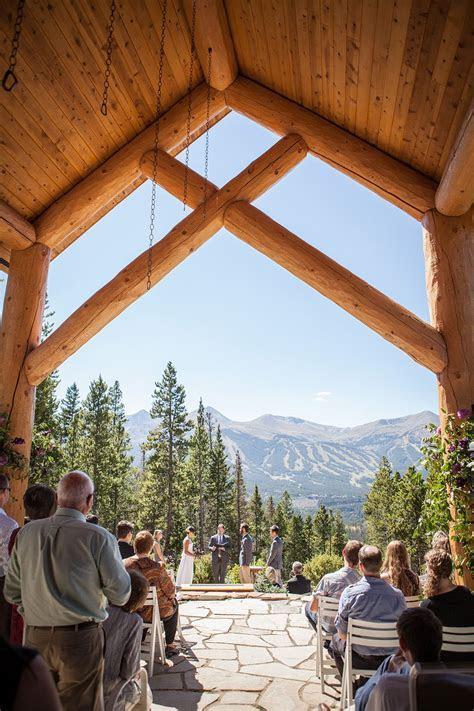 Breckenridge wedding at Rubywood!   Tying the Knot
