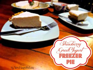 Strawberry Freezer Pie