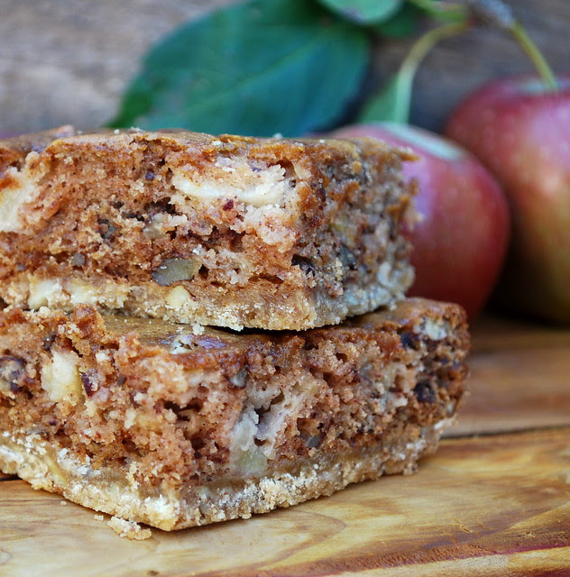 Sour Cream Apple Squares