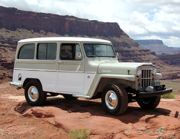 Dan Noyes' 1964 Willys Station Wagon