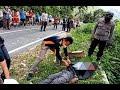 Pria Asal Taput Tewas Tergeletak di Pinggir Jalan Humbahas Sumut, Wajah Membiru Mulut Dihinggapi Lalat