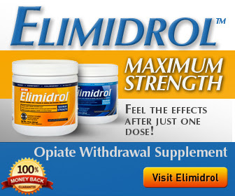 Elimidrol - Opiate Withdrawal Supplement - Click Here!