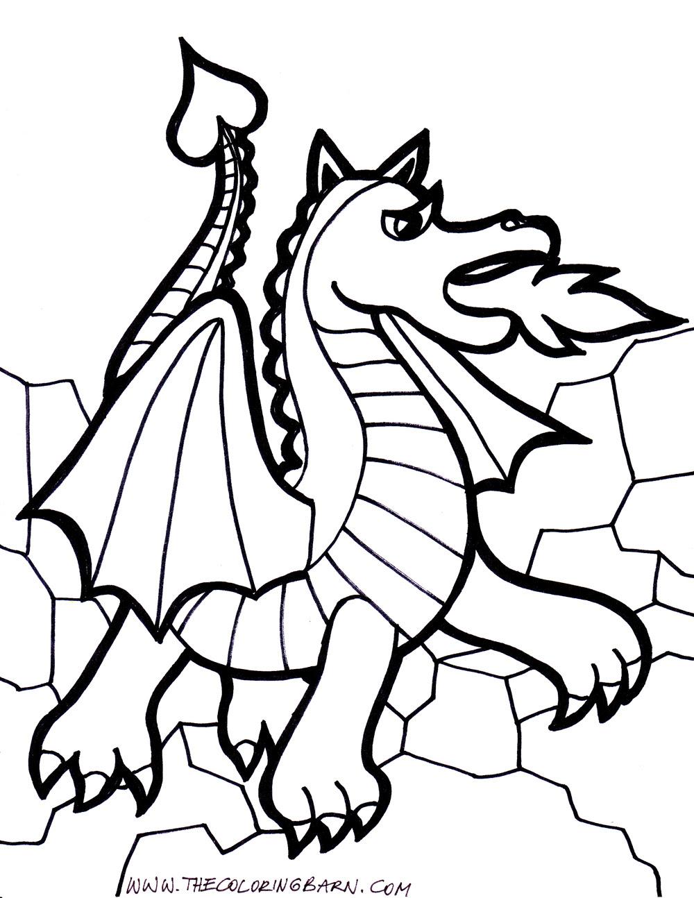 157 Dibujos De Dragones Para Colorear Oh Kids Page 8