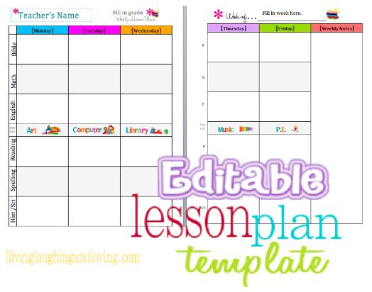 1000+ ideas about Free Lesson Planner on Pinterest   Lesson ...