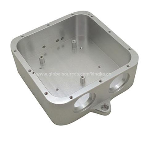 Precision CNC milling aluminum housing