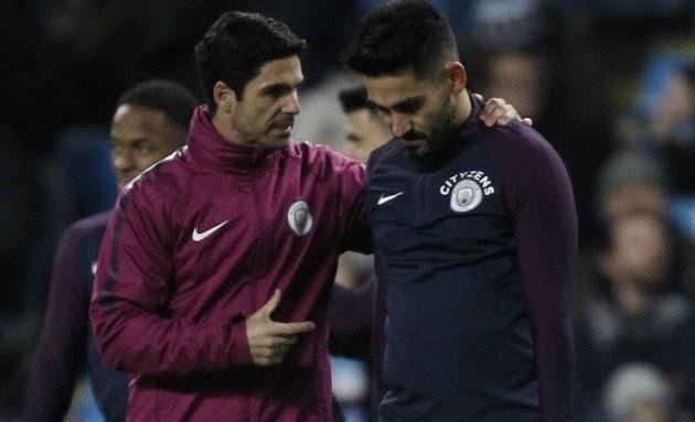 Man City confident holding onto Mikel Arteta