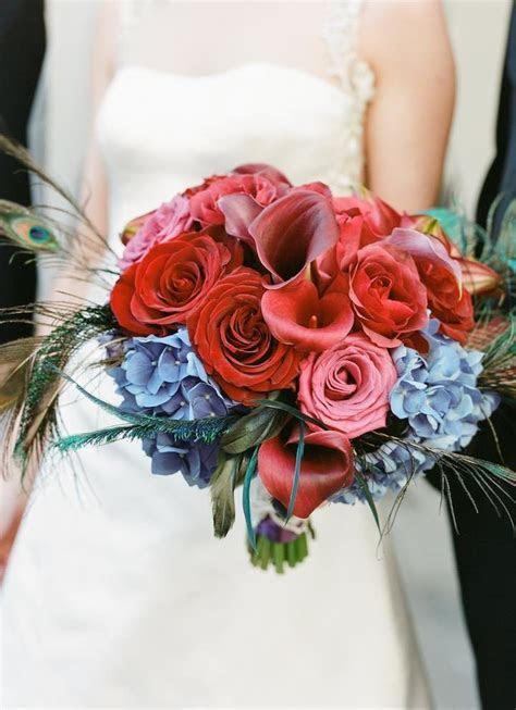 San Francisco Wedding Peacock Inspiration   MODwedding