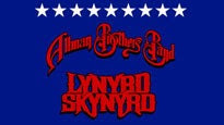 Allman Brothers Band & Lynyrd Skynyrd discount offer for event in Charlotte, NC (Verizon Wireless Amphitheatre Charlotte)