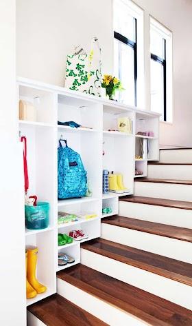 View 10 Storage Space Under Stairs Ideas Background
