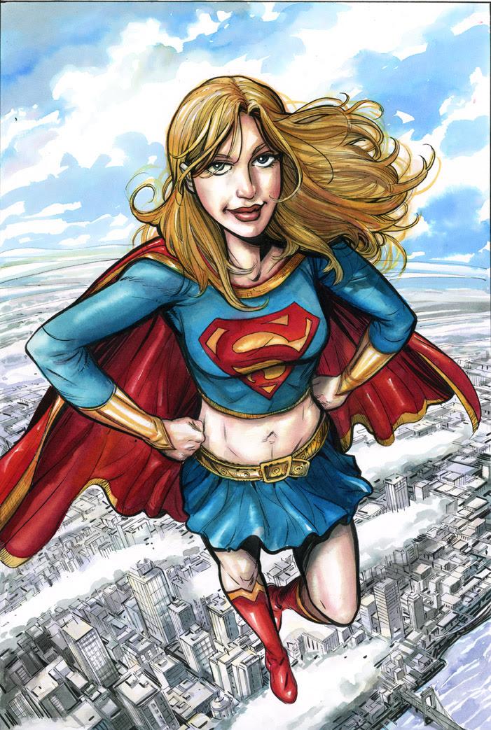 supergirl strut